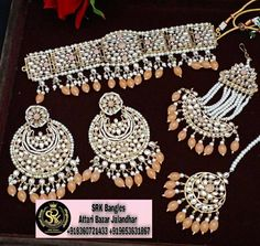 Punjabi Traditional Jewellery, Bridal Chura, Bridal Sets, All The Colors, Marketing And Advertising, My Etsy Shop, Colour, Unique, Check