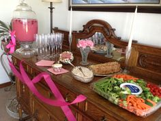 My sisters bridal shower party