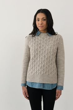 Hawley Pullover | Knitting Pattern by Julie Hoover for Purl Soho