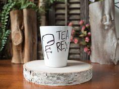 Thé-Rex >> tasse à café en céramique >> tasse à café >> peints à la main >> conception Unique de T-Rex >> personnalisable