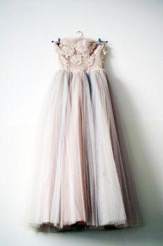 f49ec62e19dbc fashion dress vintage 50s pink prom satine prom dress Delicate vintage  dress pink dress elsa billgren