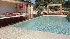 decoración de piscinas chill out