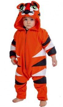 Disfraz de Tigre Rayado bebé