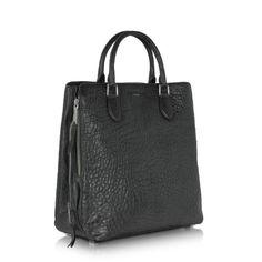 Rochas Leti Sheepskin Leather Tote $1950 http://www.zoanne.com/bags/rochas-leti-sheepskin-leather-tote/