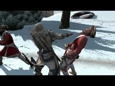 A new New York Comic Con video of Assassin's Creed III has been uploaded by Ubisoft. This new trailer focuses on Connor's arsenal that he will be able to use throughout the Single Player campaign of Assassin's Creed III. Players will be able to choose from two hidden blades, a Tomahawk, the Rope Dart, his bow and arrow and many other weapons to deliver the killing blow to his enemies.