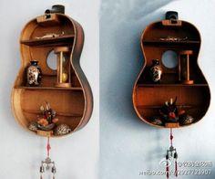 old guitar case