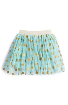 Billieblush Metallic Dot Skirt (Toddler Girls, Little Girls & Big Girls) available at #Nordstrom
