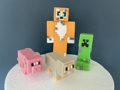 Making Fondant, Edible Glue, Cake Delivery, Fondant Icing, My Son Birthday, Minecraft Party, Fondant Figures, To Loose, Birthday Photos