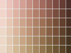 Shades of nude » NellyRodiLab