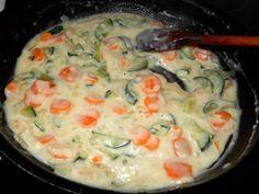 Zöldséges tészta recept