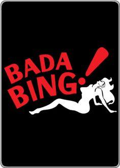 bada bing! sopranos.
