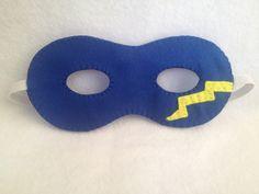 Superhero mask from my Etsy shop https://www.etsy.com/uk/listing/119785456/mask