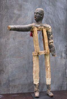 Black minstrel figure