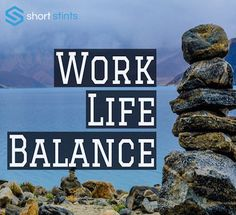 Work-life balance is a short phrase that seems simple, but is elusive for most of us in the working world. Finding work-life balance doesn't mean finding a 50-50 split. Instead, it's a reflection of your values and what you want from each sphere of your life.  #Success #Motivation