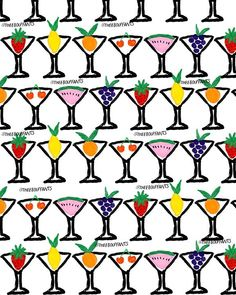 Fruit Cocktails.