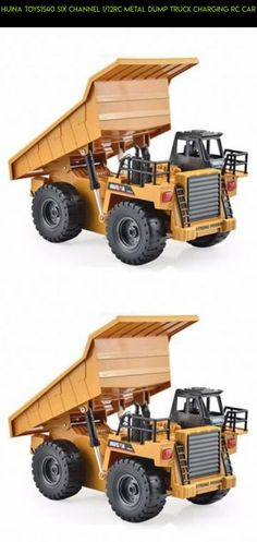 HuiNa Toys1540 Six Channel 1/12RC Metal Dump Truck Charging RC Car #products #tech #parts #drone #camera #gadgets #fpv #racing #technology #huina #rc #plans #shopping #kit