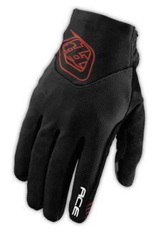 Ace Glove- Black by Troy Lee Designs (Men's) Dirty Jane Women's Mountain Bike Apparel