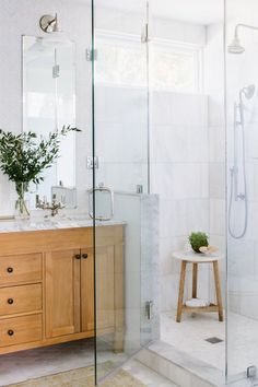 Portfolio - Alison Giese Interiors - Unique Interior Design Northern Virginia — Alison Giese Interiors - Quality Interiors in Northern Virginia & Washington DC Zen Bathroom, Chic Bathrooms, Shared Bathroom, Bathroom Ideas, Master Bathrooms, Bathroom Inspo, Bathroom Vanities, Bathroom Remodeling, Remodeling Ideas
