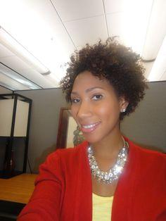 Natural Hair at Work