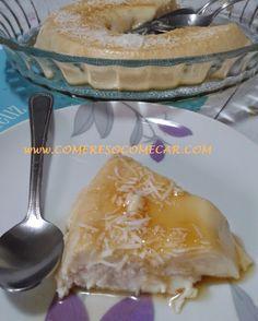 PUDIM DE COCO DE GELADEIRA - Receitas Culinárias