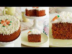 Tarta de Zanahoria o Carrot Cake ¡Triunfarás con esta Receta! - YouTube Princess Wedding Cakes, Carrot Cake Decoration, Caramel Pecan, Cupcake Cakes, Carrots, Cake Decorating, Cooking Recipes, Sweets, Baking