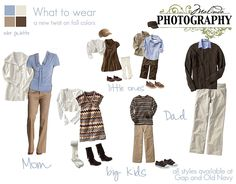 large family photo clothing ideas | Clothing suggestions for Family Sittings » Malinda Grace Photography