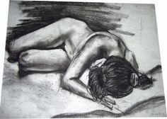 One of my figure drawings, Delaine Derry Green