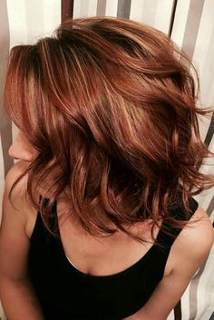 Auburn hair color is a variation of red hair most often described as a reddish- . - Auburn hair color is a variation of red hair most often described as a reddish- … # - Hair Color Auburn, Hair Color Highlights, Auburn Ombre, Auburn Highlights, Red Ombre, Auburn Balayage, Short Auburn Hair, Caramel Highlights, Blonde Ombre