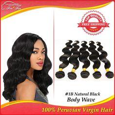 Rosa Hair Products Peruvian Virgin Hair Body Wave human Hair Extension Grade 5A 5pcs Mixed Length 12-30inch Free Shipping 100g $126.25 - 303.25
