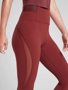 Aura Heel Tight in Powervita™ Moda Fitness, Running Leggings, Sports Leggings, Sporty Outfits, Cute Outfits, Cute Pants, Compression Pants, Workout Attire, Athleisure Fashion