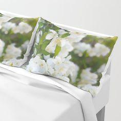Jasmin Pillow Sham by minnac Pillow Shams, Bed Pillows, Pillow Cases, My Photos, Stuff To Buy, Design, Pillowcases, Pillows, Pillow Protectors
