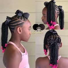 65 Badass Box Braids Hairstyles That You Can Wear Year-Round - Hairstyles Trends Box Braids Hairstyles, Kids Braided Hairstyles, My Hairstyle, Kids Crochet Hairstyles, Crochet Braids Kids, Hairstyle Ideas, Short Hairstyles, Black Kids Hairstyles, Baby Girl Hairstyles