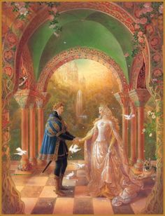 Fantasy Paintings by Award Winning Artist Kinuko Craft Fantasy Paintings, Fantasy Art, Fantasy Authors, Illustration Art, Illustrations, Fairytale Art, Art Plastique, Oeuvre D'art, Art History