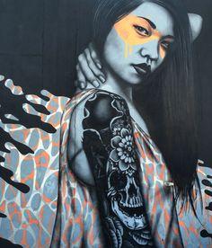 Art piece by artist Fin DAC