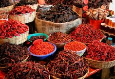 Los chiles de Mexico