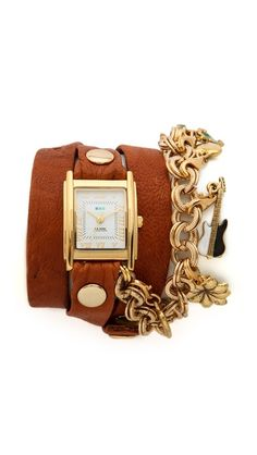 La Mer Collections Lucky Charms Wrap Watch
