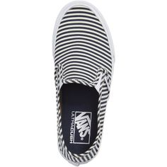 Women's Vans Sf Slip-On Sneaker ($52) ❤ liked on Polyvore featuring shoes, sneakers, slip-on shoes, pull-on sneakers, slip on shoes, vans footwear and slip-on sneakers