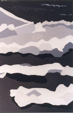 #estherramos #arte #pintura #cuadro #pigmento #latex #tela #lienzo #Los témpanos del Alma