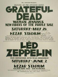 Led zeppelin live at Kezar Stadium June 2 1973. Zephead