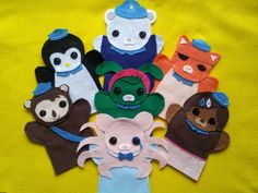 Hey, I found this really awesome Etsy listing at https://www.etsy.com/listing/94649466/octonauts-felt-puppets-a-set-of-7