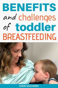 Toddler breastfeeding is great for both you and baby! Learn the benefits of extended breastfeeding, as well as how to overcome the challenges associated with breastfeeding your toddler. - Life and hacks Breastfeeding Toddlers, Extended Breastfeeding, Breastfeeding Positions, Breastfeeding And Pumping, Breastfeeding Pictures, Peaceful Parenting, Gentle Parenting, Kids And Parenting, Parenting Hacks