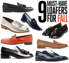 9 must have loafers for fall