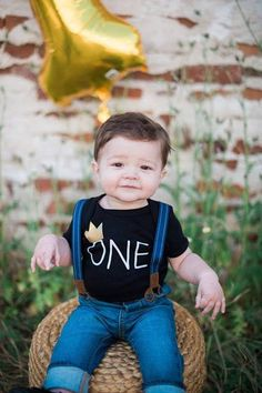 First Birthday Outfit Boy Shirt Wild One