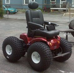 All terrain wheelchair with an amazing performance! Cool Truck Accessories, Wheelchair Accessories, Radio Flyer Wagons, Mobiles, Mobility Aids, Mobility Scooters, Powered Wheelchair, Scooter Motorcycle, Quad Bike