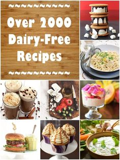 Dairy-Free Recipes – Over 2000 non-dairy, lactose-free, casein-free and completely milk-free recipes! Dairy-Free Recipes – Over 2000 non-dairy, lactose-free, casein-free and completely milk-free recipes! Lactose Free Diet, Lactose Free Recipes, Sem Lactose, Gluten Free, Troubles Digestifs, Milk Allergy, Allergy Free, Lunch Boxe, Healthy Snacks