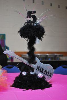 "Photo 1 of 25: Rock Star Birthday / Birthday ""Double Rock Star Diva Bash""   Catch My Party"