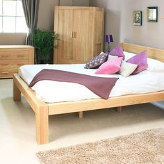 Atlas King Size Bed by Harley & Lola