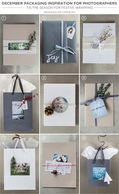 december packaging inspiration - 'tis the season for festive wrapping