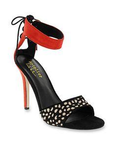 656c1195bbd3 Nicole Miller Bardot Heeled Sandal