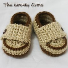 baby crochet shoes - shoes